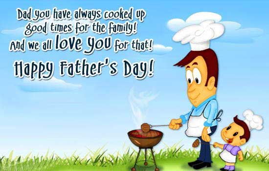 Do Yo Have Always Cooked Up Happy Father's Day I Love You