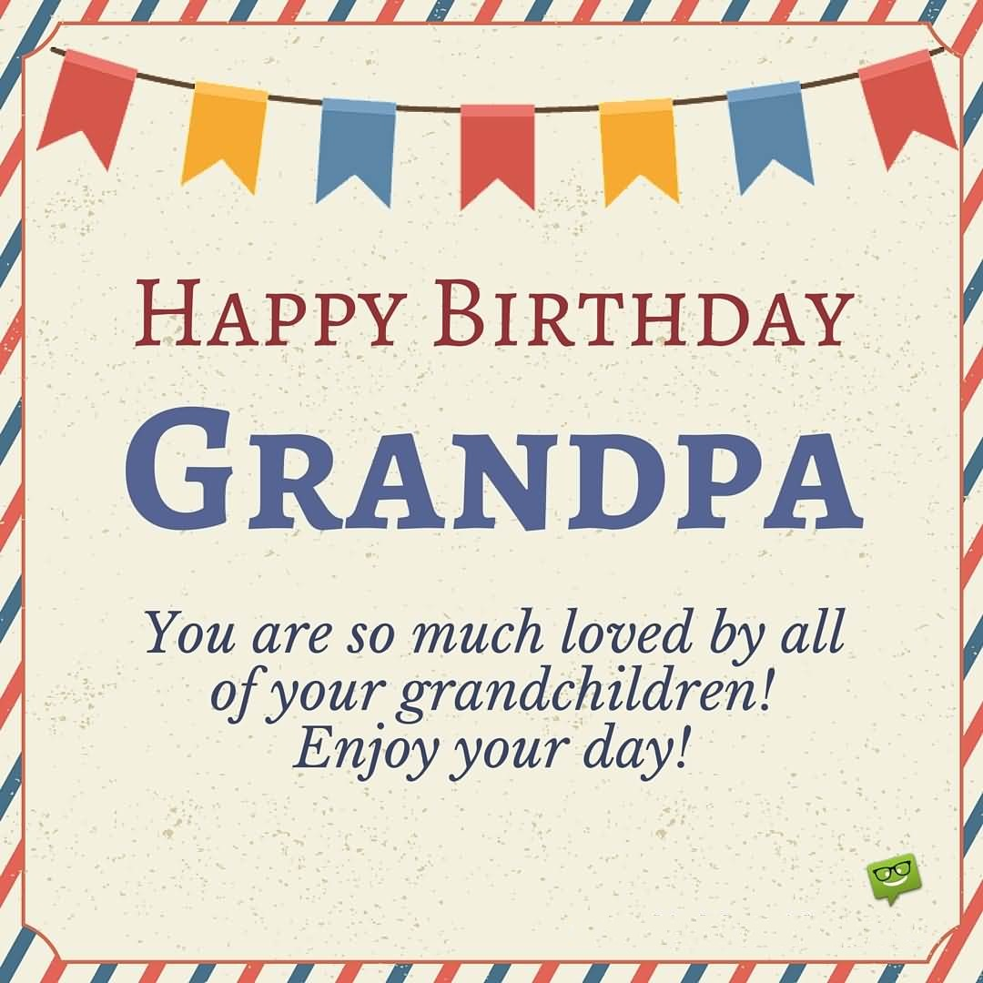 30 Heart Touching Birthday Wishes For Girlfriend: 42 Heart Touching Grandpa Birthday Wishes Image