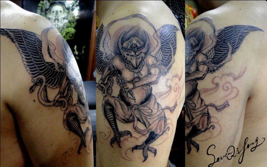 Demon Tattoo