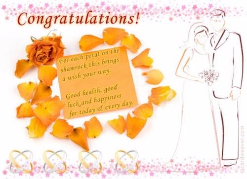Fabulous Wedding Greeting Image