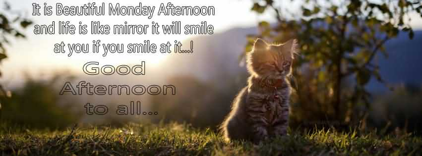 Facebook Cover Image Good Afternoon Wishes Message