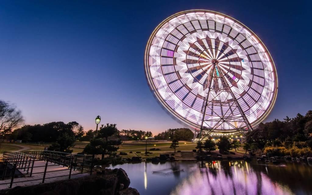 Fantastic Ferris Wheels Full HD Wallpaper
