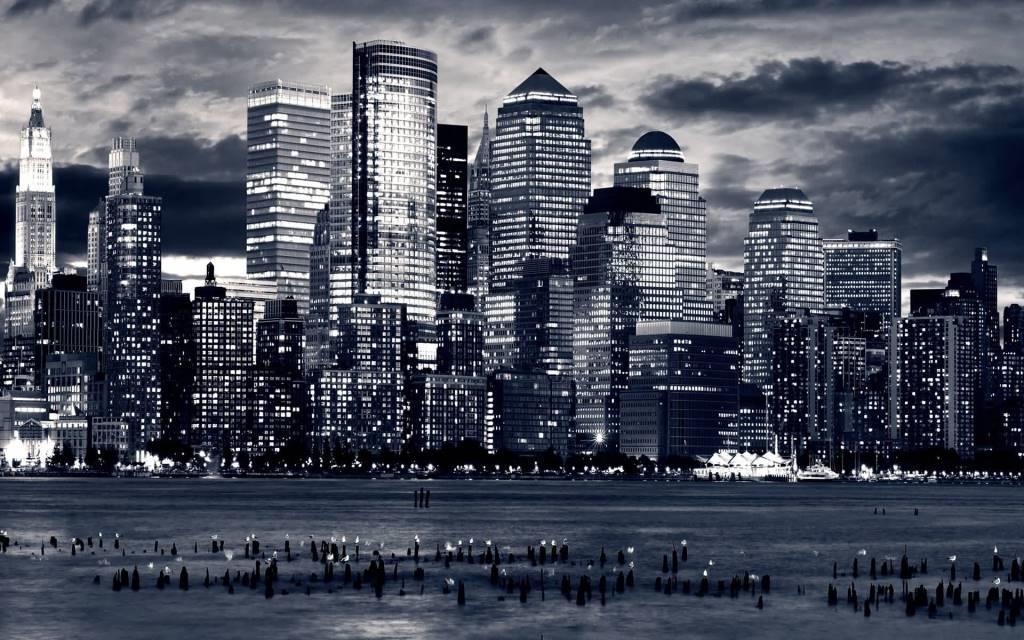 Fantastic New York Skyline Full HD Wallpaper