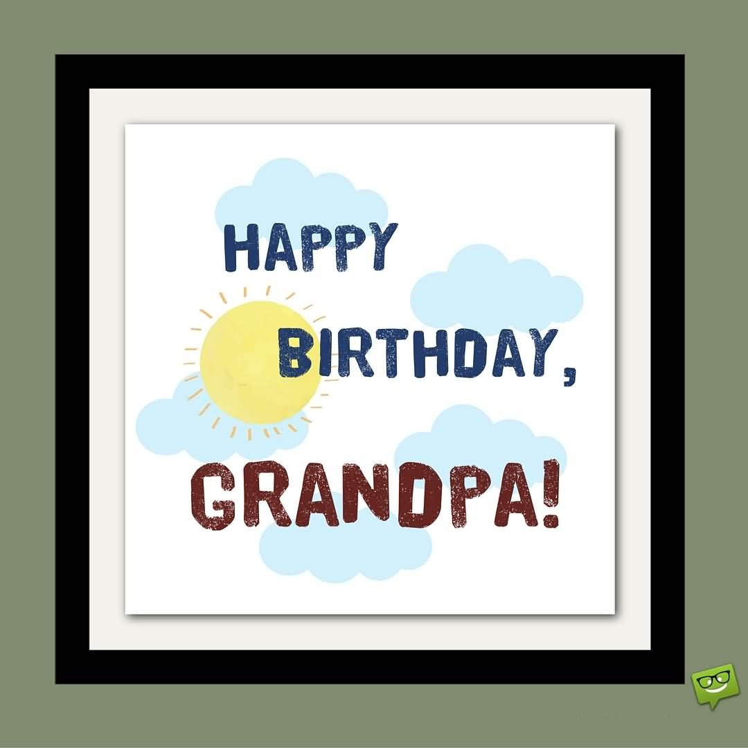 20 Heart Touching Birthday Wishes For Friend: 42 Heart Touching Grandpa Birthday Wishes Image
