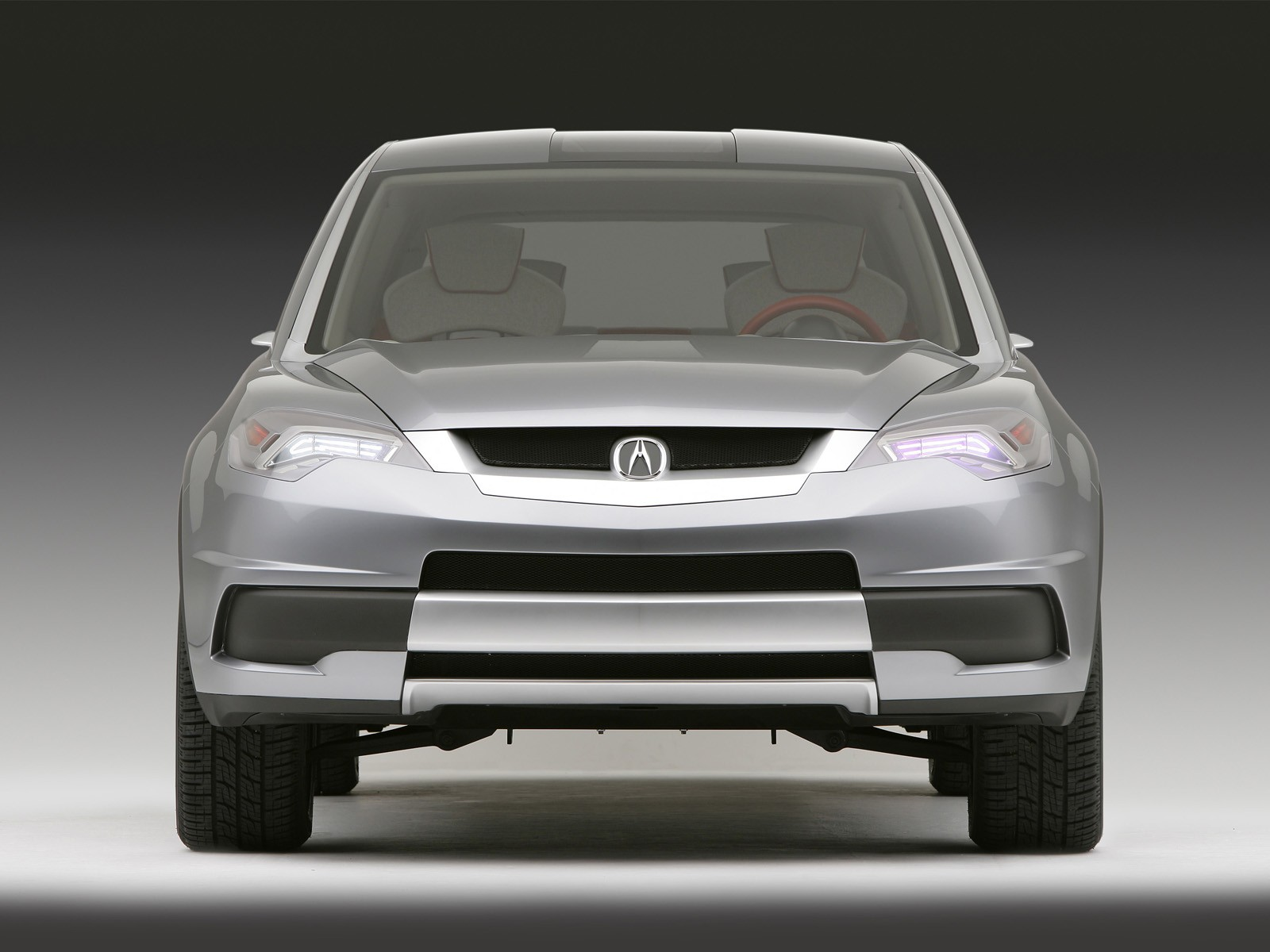 Front side silver best Acura RDX Concept Car