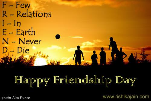 Friends Forever Happy Friendship Day Greetings Image