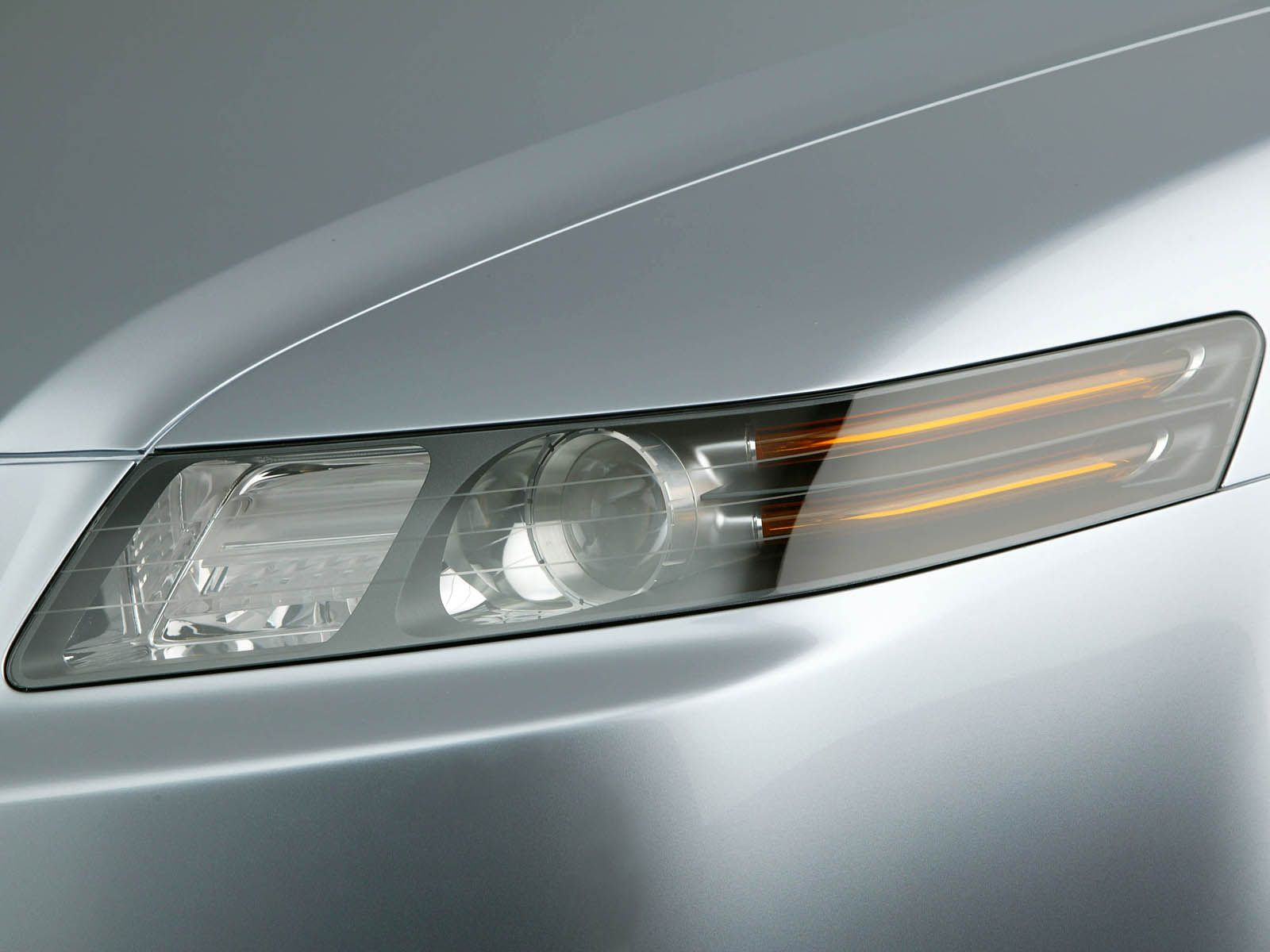 Front light of beautiful Acura TL Concept Car