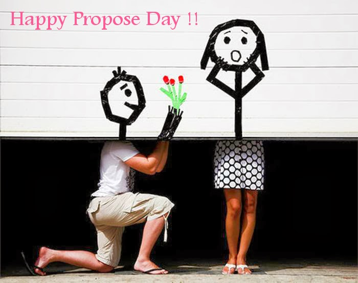 Funny Happy Propose Day Greetings Image