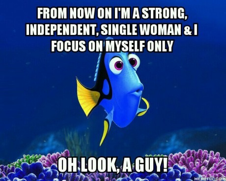 Funny Single Memes From now on i'm a strong independent single woman & i focus on myself