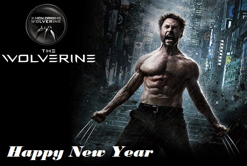 Funny X Man Happy New Year Wishes Image