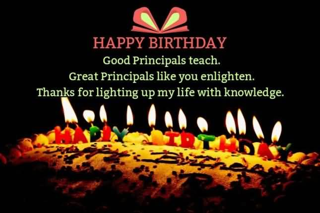 God Bless Birthday Wishes For Principal Sir Wishes Quotes With Image