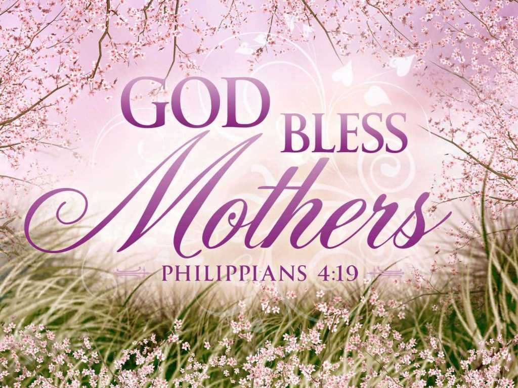 God Bless Happy Mothers Day Wishes Image
