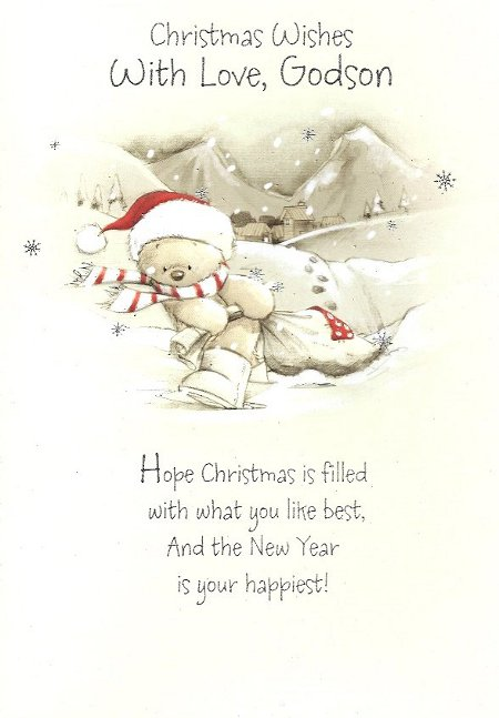 Godson Quotes Christmas wishes with love godson hope christmas is filled with what you like