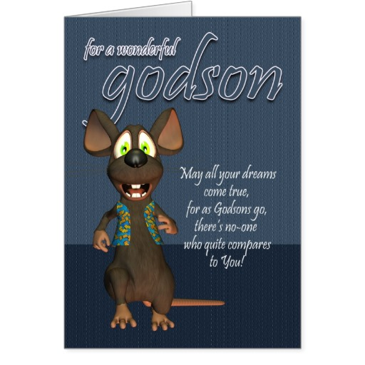 Godson Quotes For a wonderful godson may all your dreams come true for as godsons go