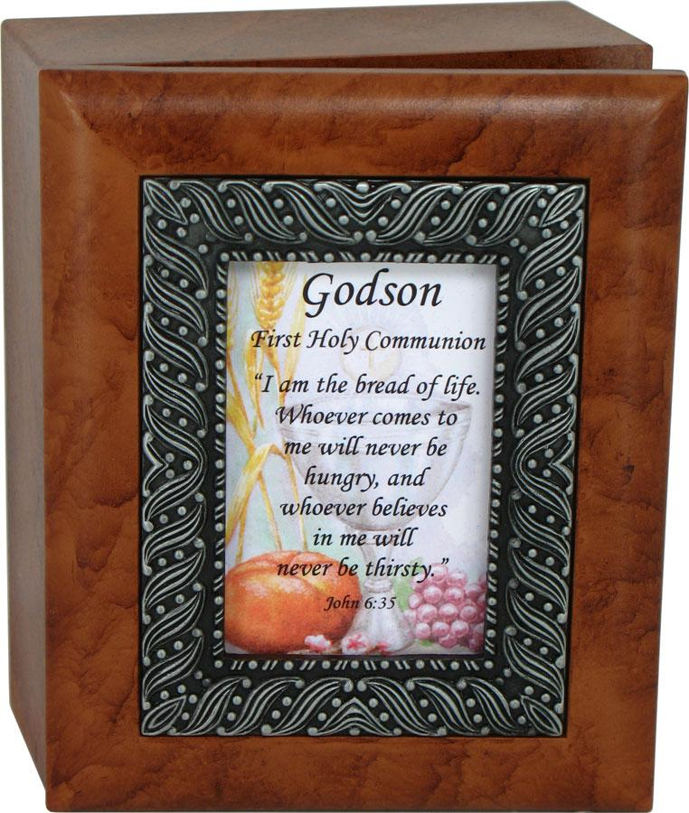 Godson Quotes Godson first holy communion i am the bread of life whoever comes to me will