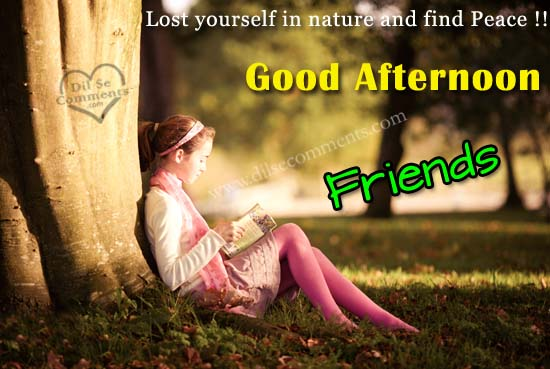 Good Afternoon Friends Facebook Image