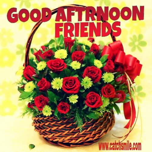 Good Afternoon Friends Wishes Image
