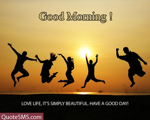 Good Morning Love Have A Good Day Wishes Image