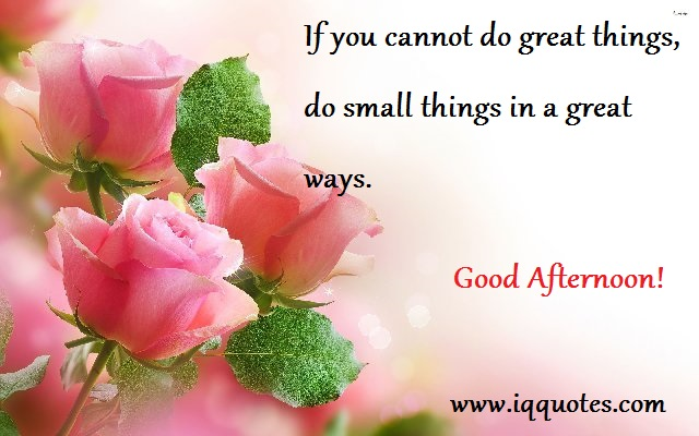 Great Good Afternoon Wishes Message Image