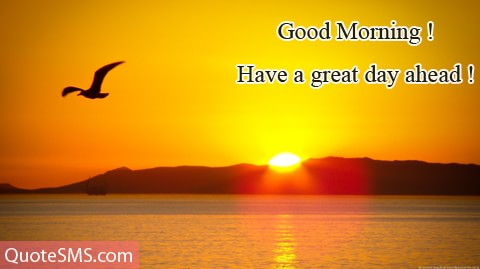 Great Good Morning Wishes Image