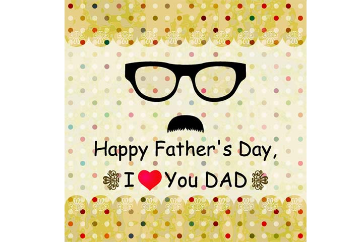 Great Happy Father's Day Wishes Card
