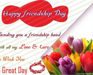 Great Wishes For Friend Happy Friendship Day Greetings