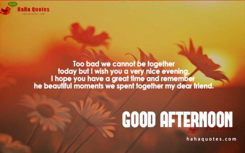 Greatest Good Afternoon Wishes Image
