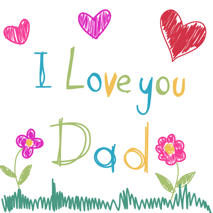 Handmade Happy Father's Day Wishes Image