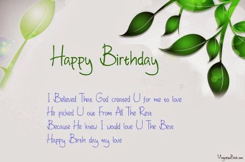Happy Birthday Greetings Message Image