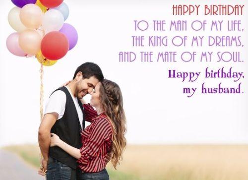 Happy Birthday My Husband Wishes Image