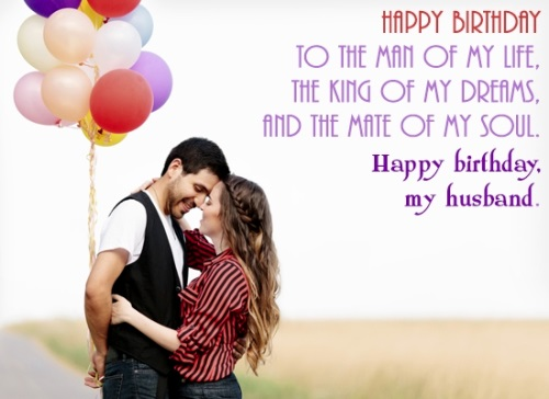 Happy Birthday My Husband Wishes Image