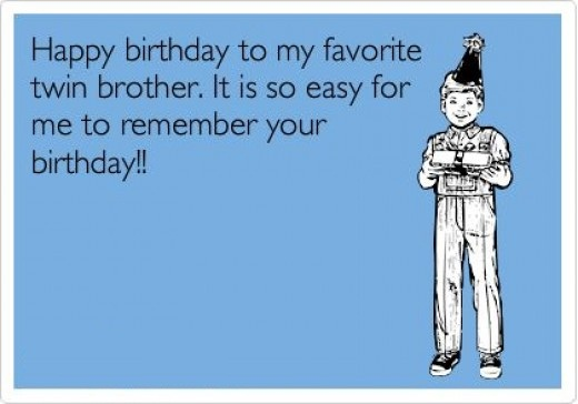 Happy Birthday Twins Message Image