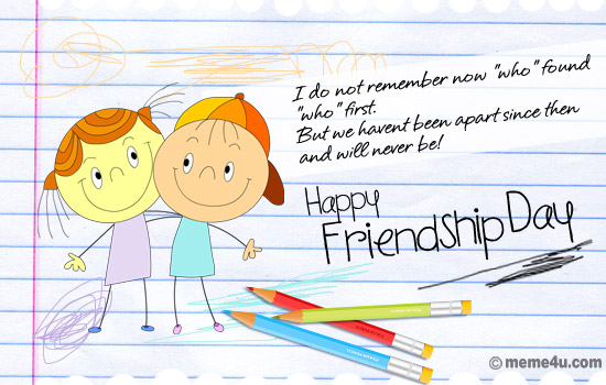 Happy Friendship Day Wishes Greetings Message