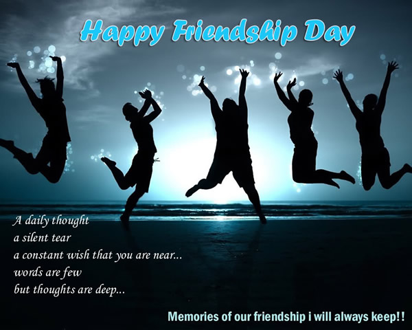 Happy Friendship Day Wishes Memories Of Our Friendship I Will Always Keep