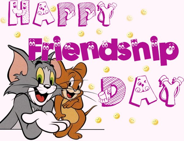 Happy Friendship Day Wishes Tom & Jerry Picture
