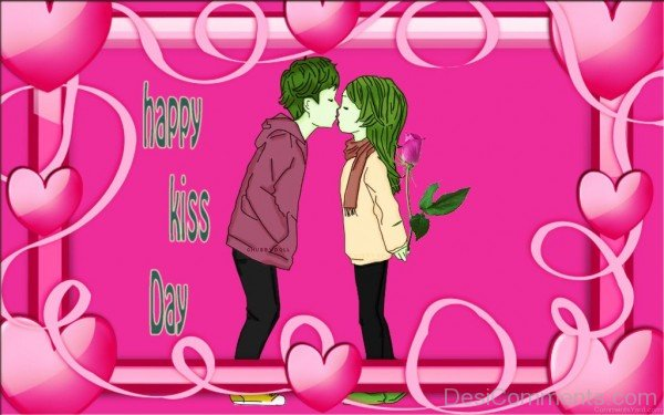 Happy Kiss Day Wishes Image