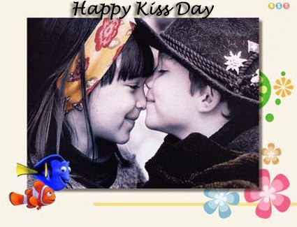 Happy Kiss Image For Card