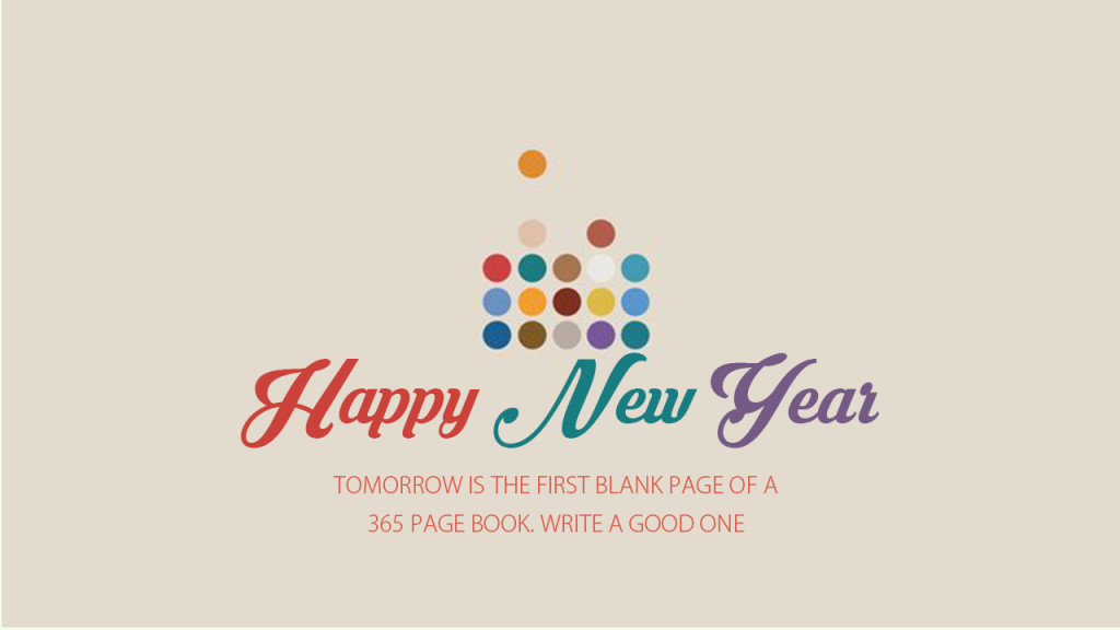 Happy New Year Beautiful Message Image
