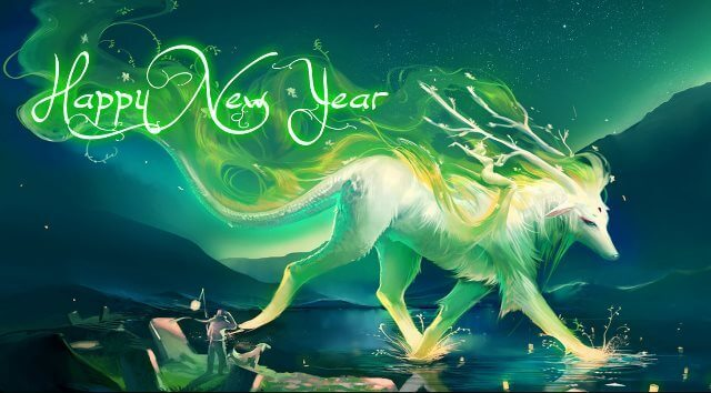 Happy New Year Lovely Wallpaper