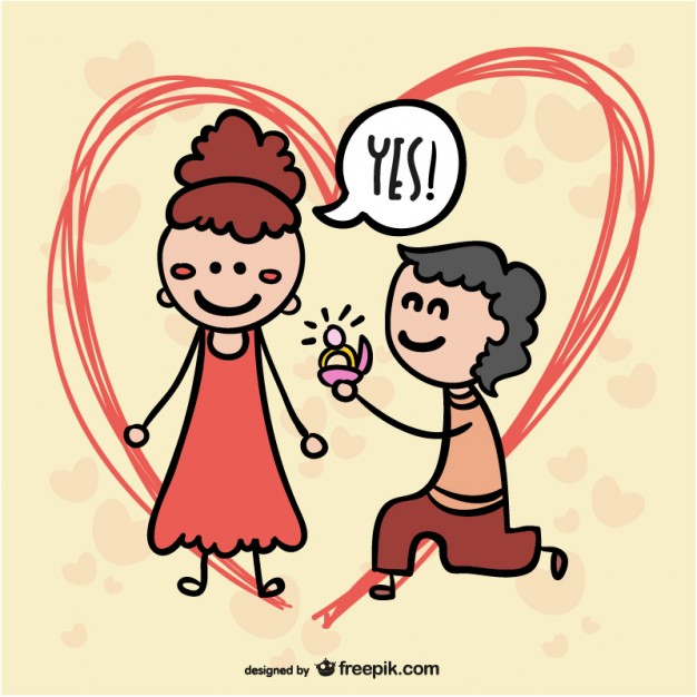Happy Propose Day Greeting Card Graphics