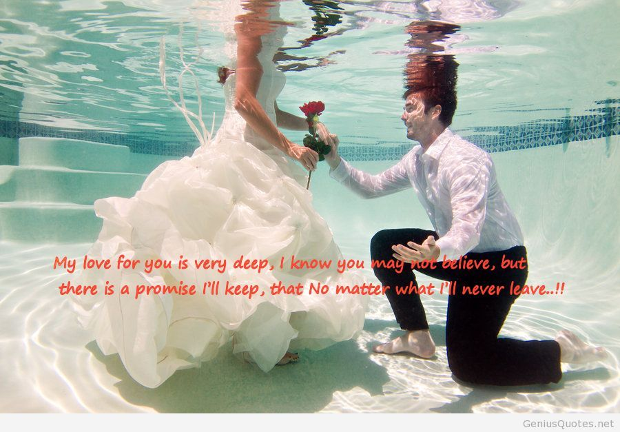 Happy Propose Day In Underwater Greetings Quotes Image