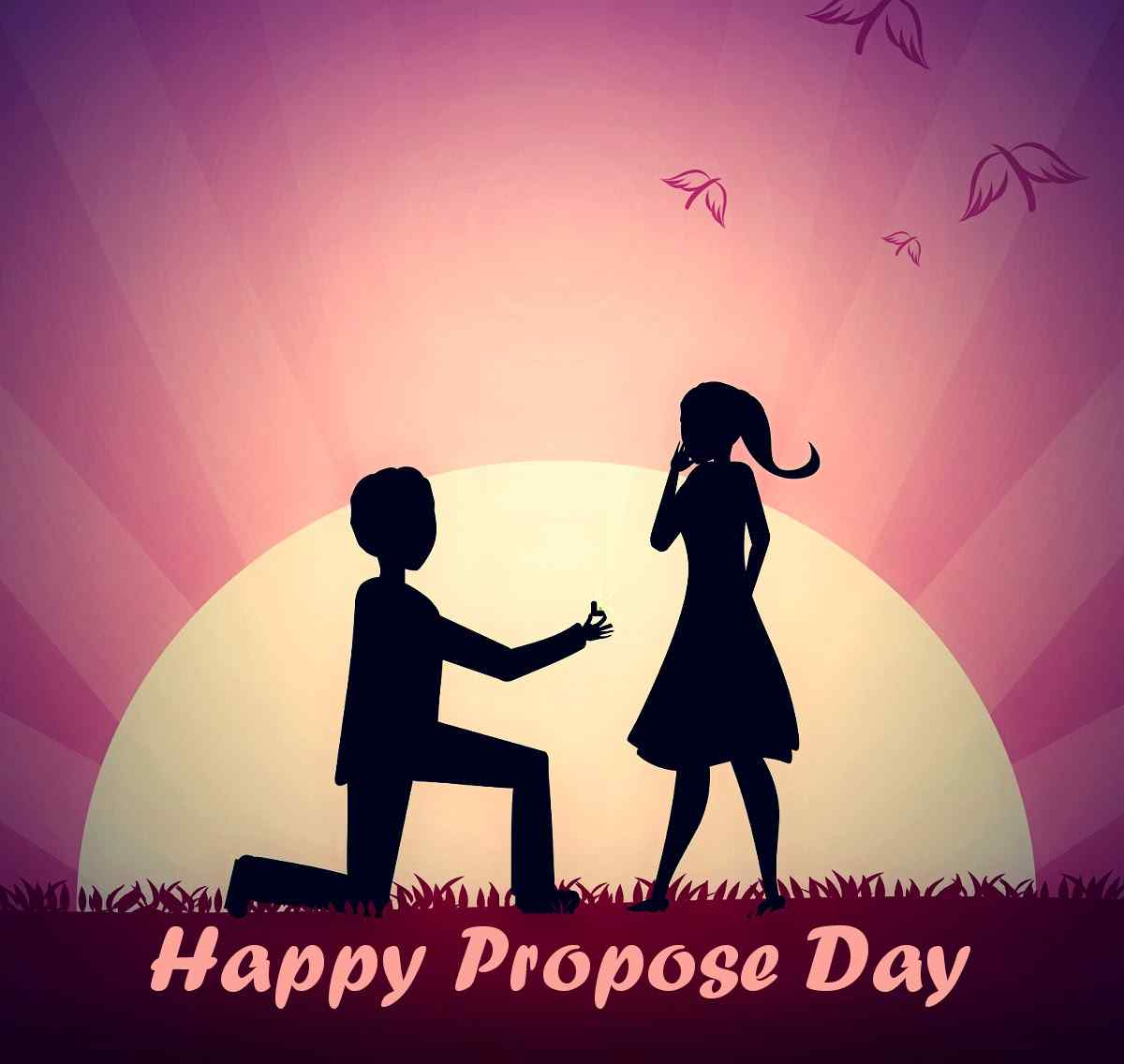 Happy Propose Day Picture For Facbook