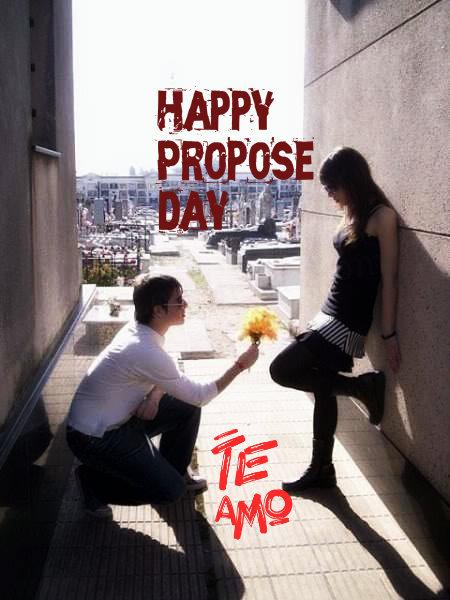 Happy Propose Day Te Amo Image