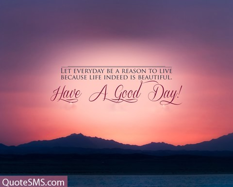 Have A Good Day Wishes Image