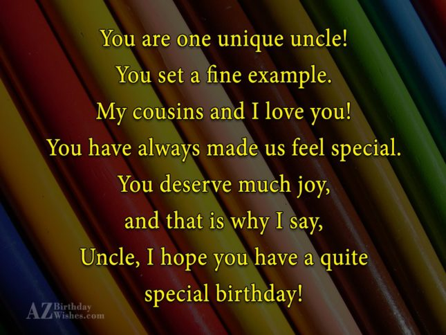 Uncle Birthday Wishes002