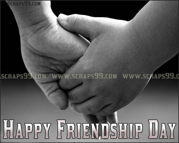 Holding Hand Picture Happy Friendship Day Greetings