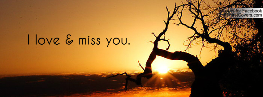 I Love Miss You Cover Wallpaper