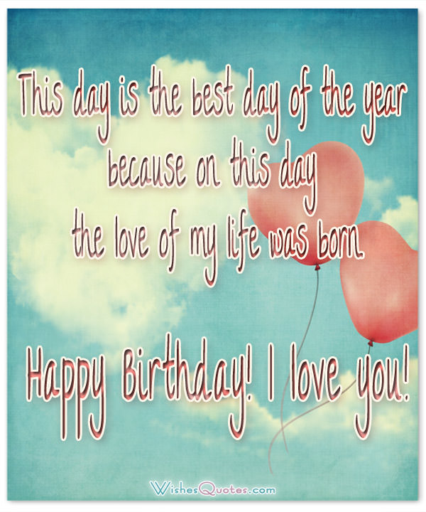 I Love You Happy Birthday Husband Wishes Message Image