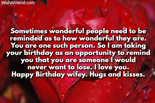 I Love You Happy Birthday Wifey Hugs And Kisses