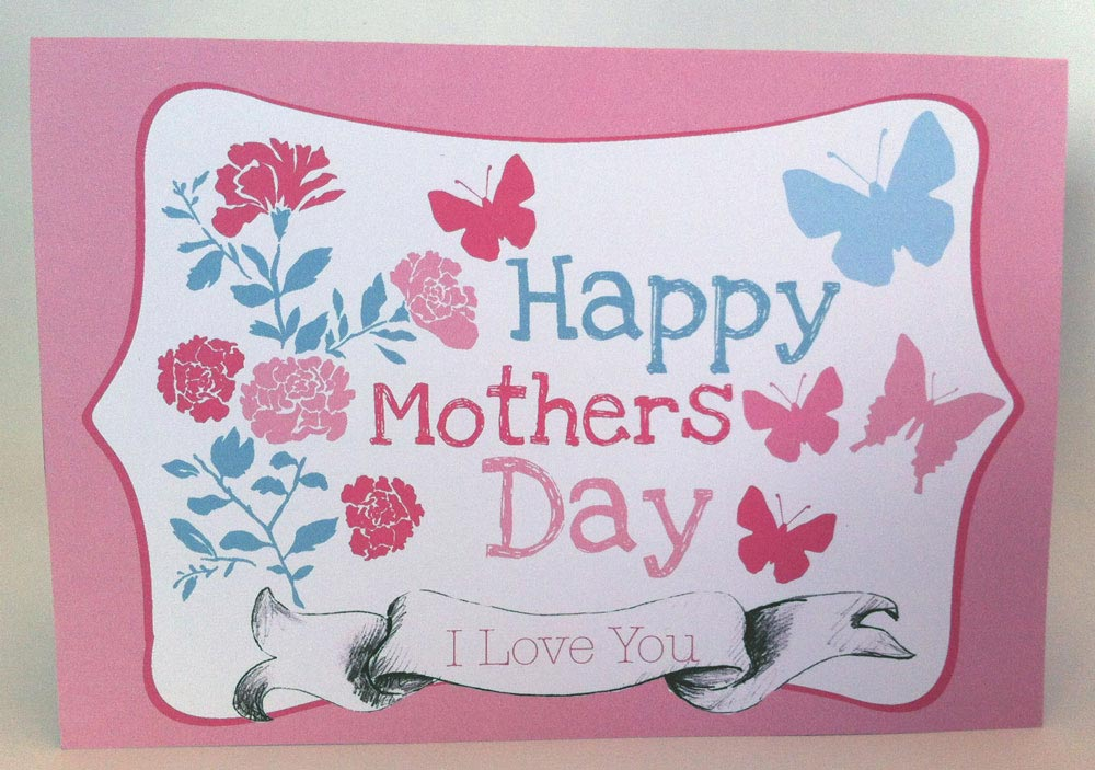 I Love You Happy Mothers Day Wishes Image